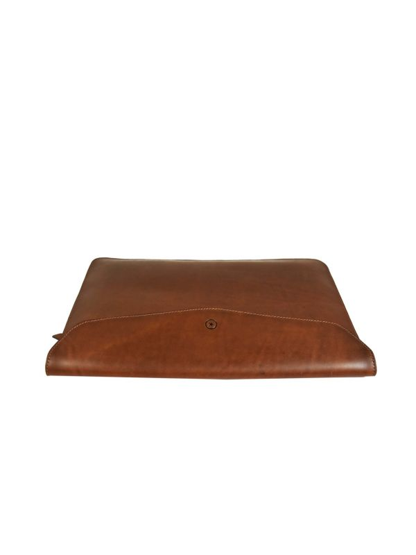 Tagus Macbook Laptop Sleeve Case - Caramel Brown