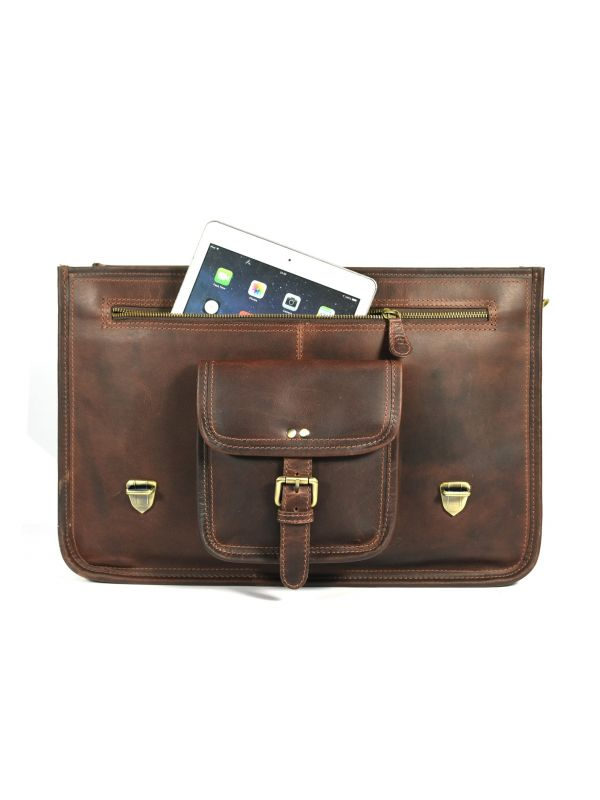 Ancona Leather Office Bag 18