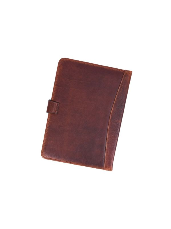 Marsala Leather Organizer - Walnut Brown