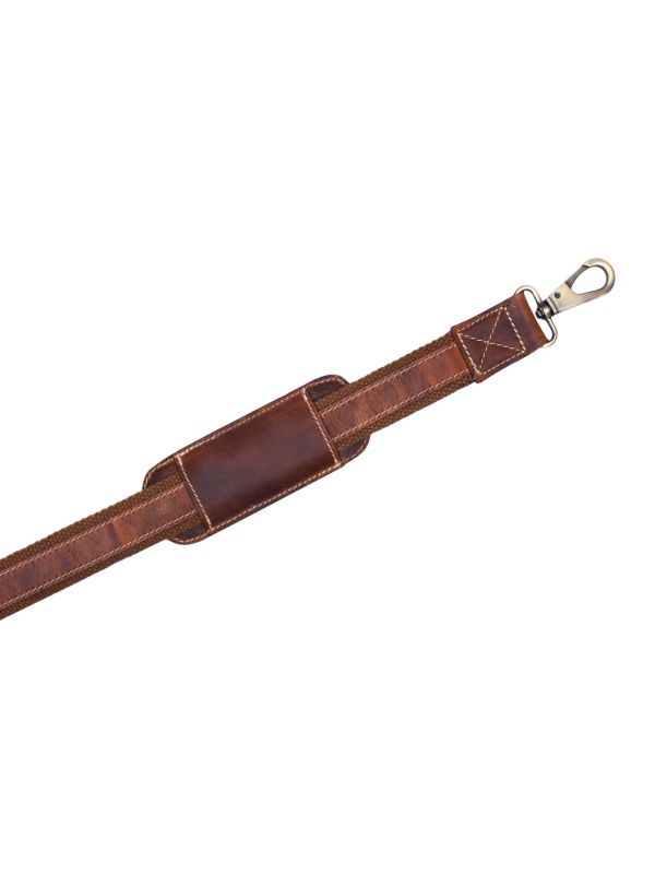 Travel Bags Leather Strap - Brown