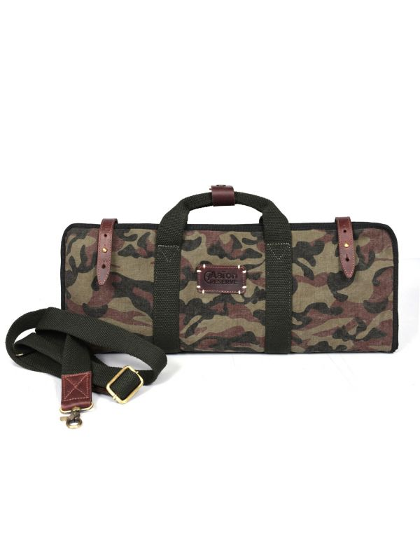 Dallas Camouflage Knife Bag - Camo Green