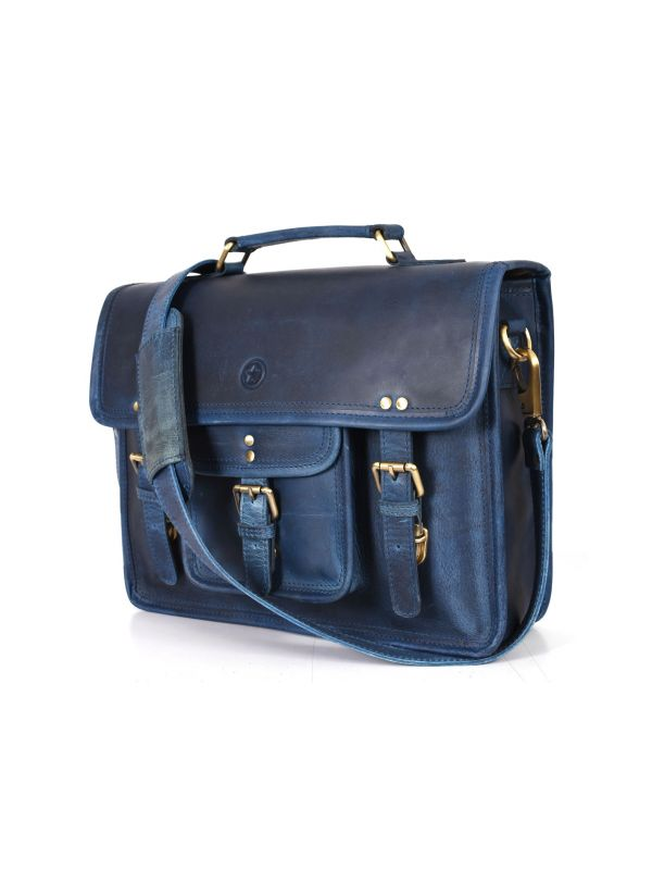 Ancona Leather Office Bag 15