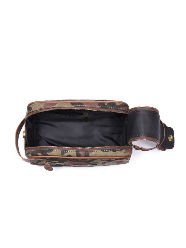 Norwich Camouflage Toiletry Bag - Camo Green