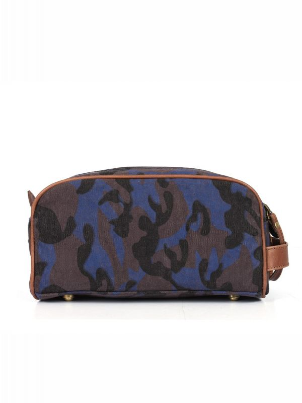 Norwich Camouflage Toiletry Bag - Camo Blue