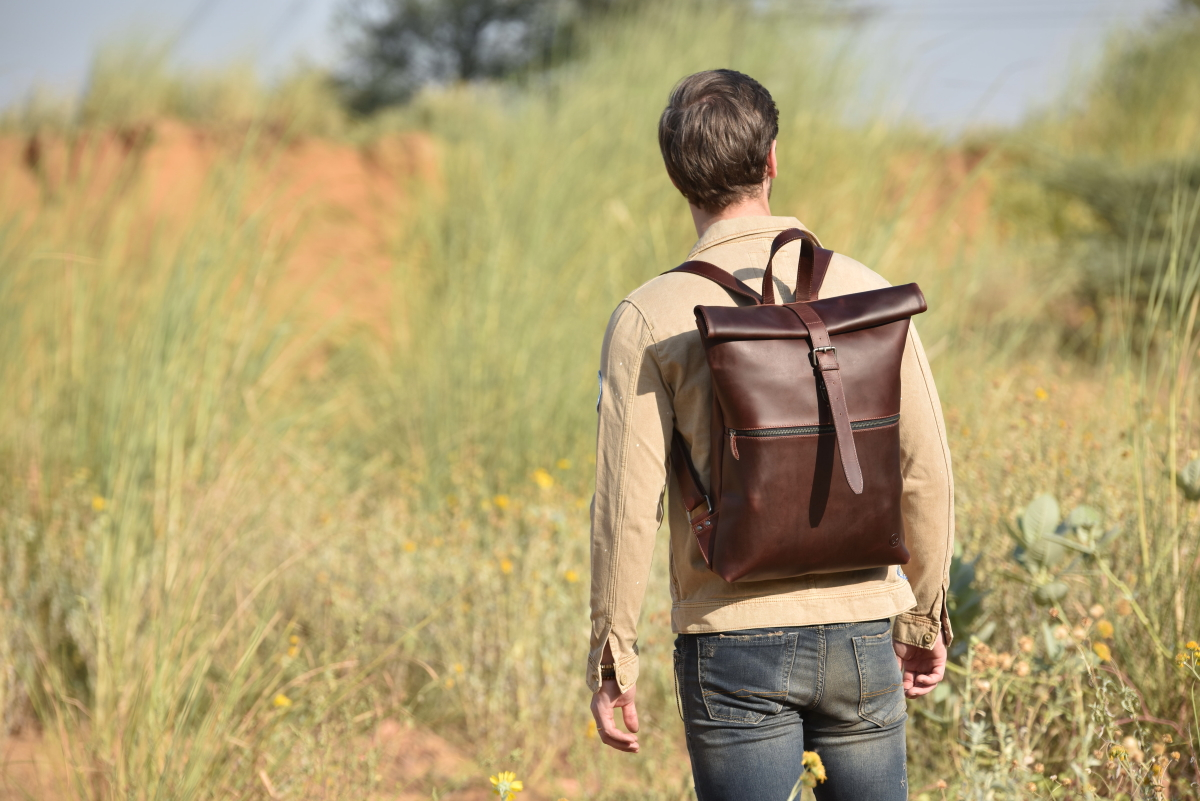 Best Italian Leather Backpack for Everyday use