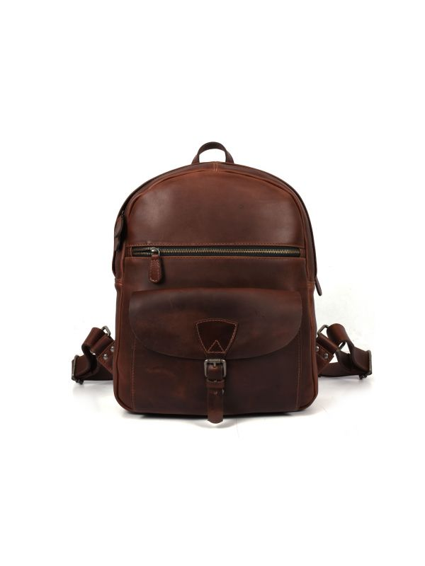 Marseille Leather Backpack